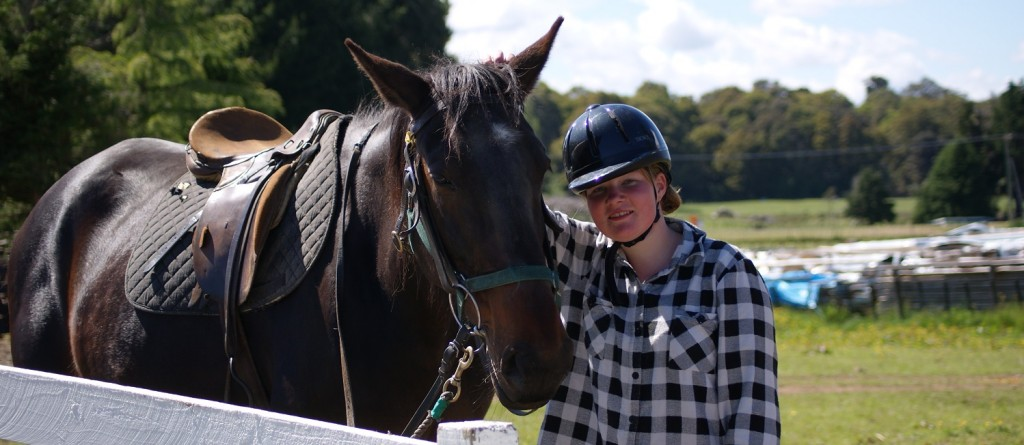 Ruapehu Homestead Learn to ride lesson picture