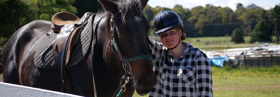 Horse treks for younger new riders